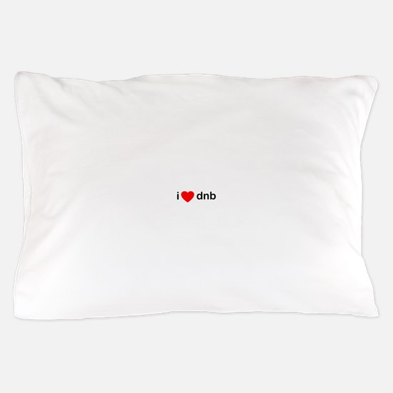 I Love DnB DJ Pillow Case
