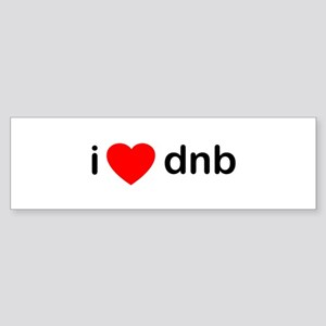 I Love DnB DJ Sticker (Bumper)
