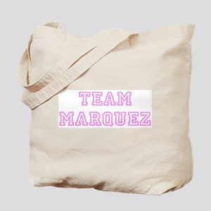 Pink team Marquez Tote Bag