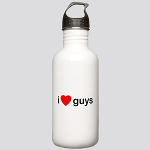 I Love Guys Stainless Water Bottle 1.0L