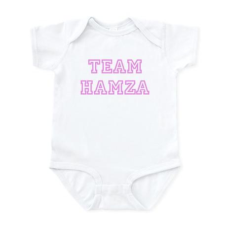 Pink team Hamza Infant Bodysuit