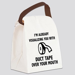 Duct Tape Canvas Lunch Bag
