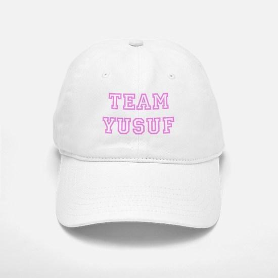 Pink team Yusuf Baseball Baseball Cap