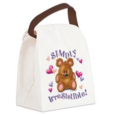 Simply Irresistible! Canvas Lunch Bag