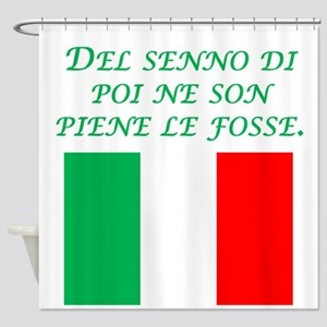 Italian Proverb After The Fact Wisdom Shower Curta