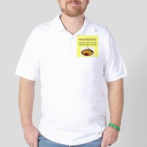 waitress, Golf Shirt