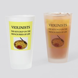 violinist Drinking Glass