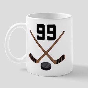 Hockey Player Number 99 Mug