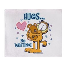 Hugs...No Waiting! Throw Blanket
