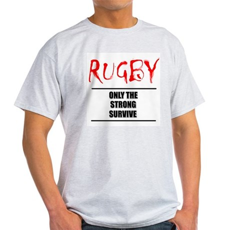 Only Strong Survive Rugby Ash Grey T-Shirt