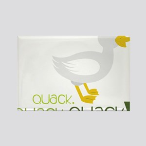 Quack Rectangle Magnet