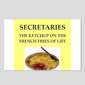 secretary Postcards (Package of 8)