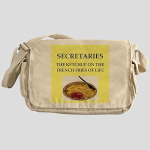 secretary Messenger Bag