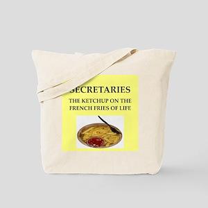 secretary Tote Bag