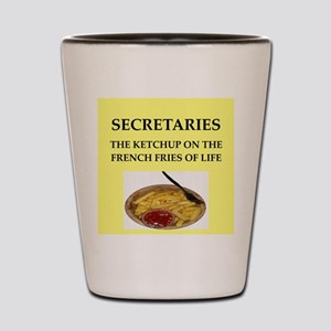 secretary Shot Glass