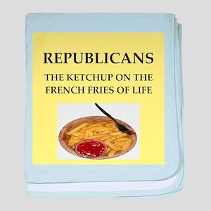 republicans baby blanket