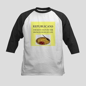 republicans Kids Baseball Jersey