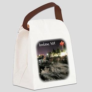 Spokane Falls 1 Canvas Lunch Bag