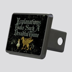 Alice Gryphon Explanations Rectangular Hitch Cover