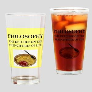 philosophy Drinking Glass