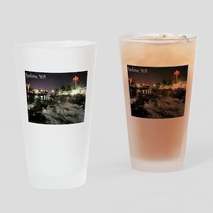 Spokane Falls 1 Drinking Glass