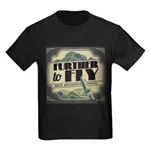 Further to Fly Kids Dark T-Shirt