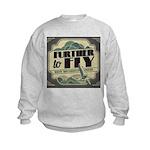 Further to Fly Kids Sweatshirt