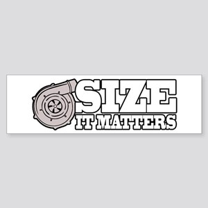 Size Matters Sticker (Bumper)
