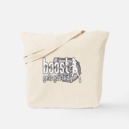 Boost Laid Tote Bag