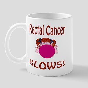 Rectal Cancer Blows! Mug
