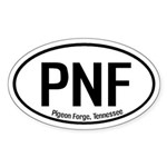 Pigeon Forge, Tennessee Oval Sticker