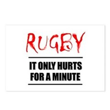 It Only Hurts 1 Rugby Postcards (Package of 8)