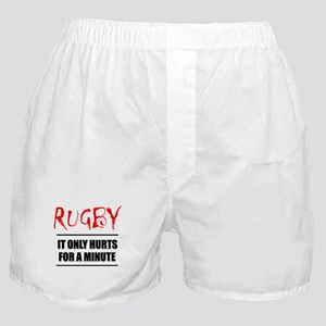 It Only Hurts 1 Rugby Boxer Shorts