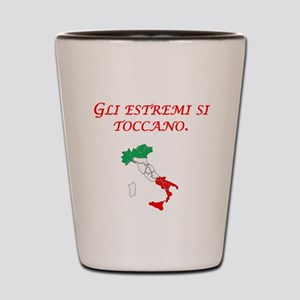Italian Proverb Extremes Shot Glass