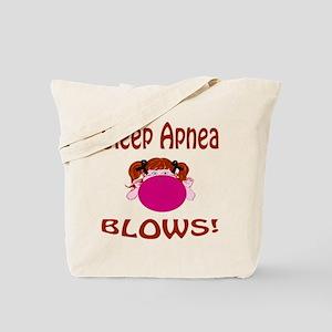 Sleep Apnea Blows! Tote Bag