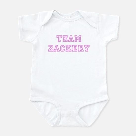 Pink team Zackery Infant Bodysuit