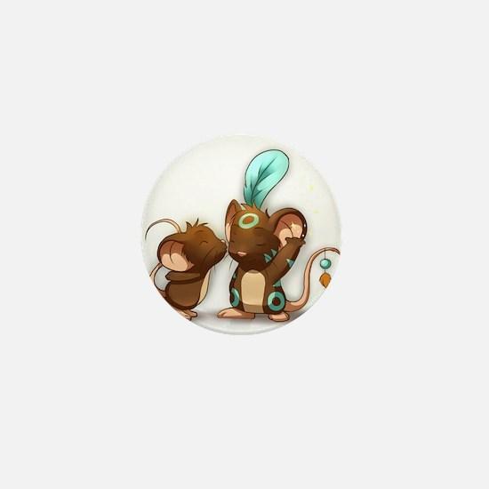 Cute Shamanism Mini Button (10 pack)