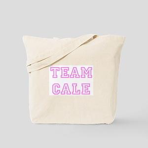 Pink team Cale Tote Bag