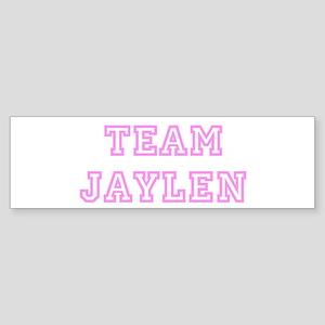 Pink team Jaylen Bumper Sticker