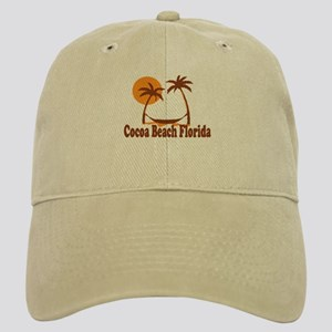 Cocoa Beach - Palm Trees Design. Cap