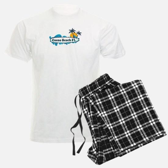 Cocoa Beach - Surf Design. Pajamas