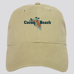 Cocoa Beach - Map Design. Cap