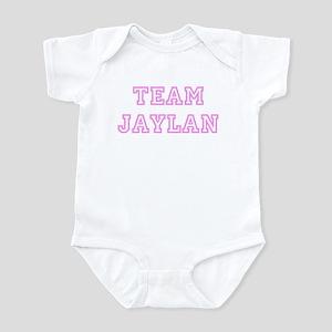 Pink team Jaylan Infant Bodysuit