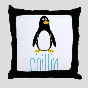 Chillin Throw Pillow