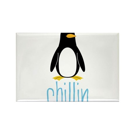 Chillin Rectangle Magnet