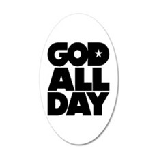 GOD ALL DAY Wall Decal