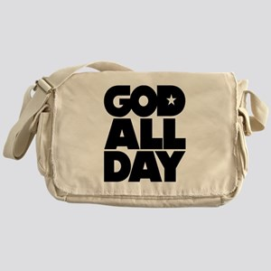 GOD ALL DAY Messenger Bag