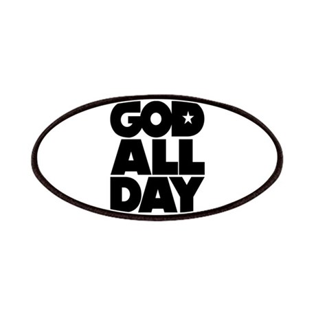 GOD ALL DAY Patches by YouLikeThisShop