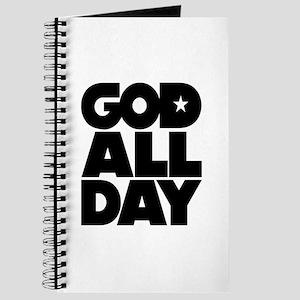 GOD ALL DAY Journal