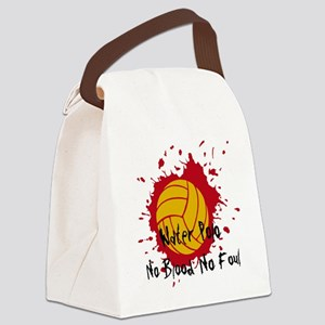 No Blood No Foul Canvas Lunch Bag